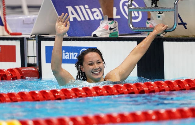 Alice Tai shone on a golden night for Britain at the World Para Swimming Championships in London.