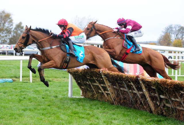 Bedrock leads Samcro over the last at Down Royal