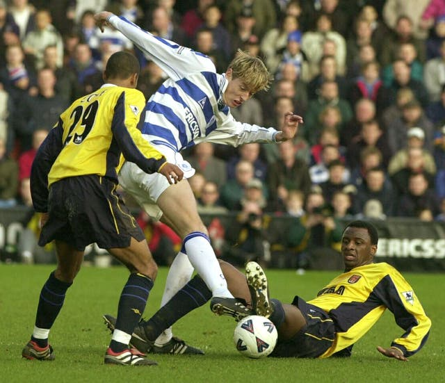 Having started his career at Tottenham, Peter Crouch made his senior Football League debut for QPR