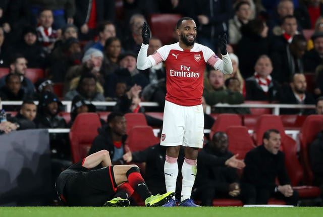 Alexandre Lacazette was cleared to play against Rennes
