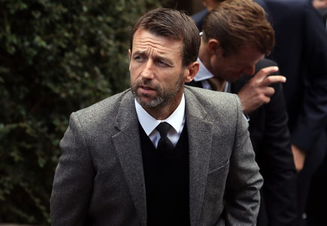 Neil McCann was one of Ricksen's former Rangers team-mates who attended