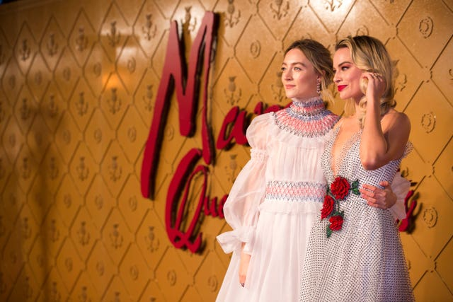 Saoirse Ronan and Margot Robbie star in Mary Queen Of Scots