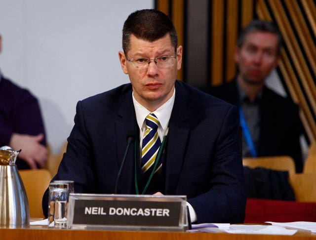 Rangers called for SPFL chief executive Neil Doncaster to be suspended
