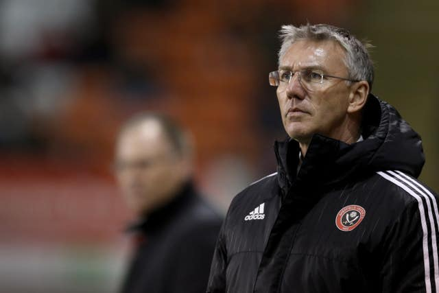 Nigel Adkins left Sheffield United in 2016 (Richard Sellers/Empics)