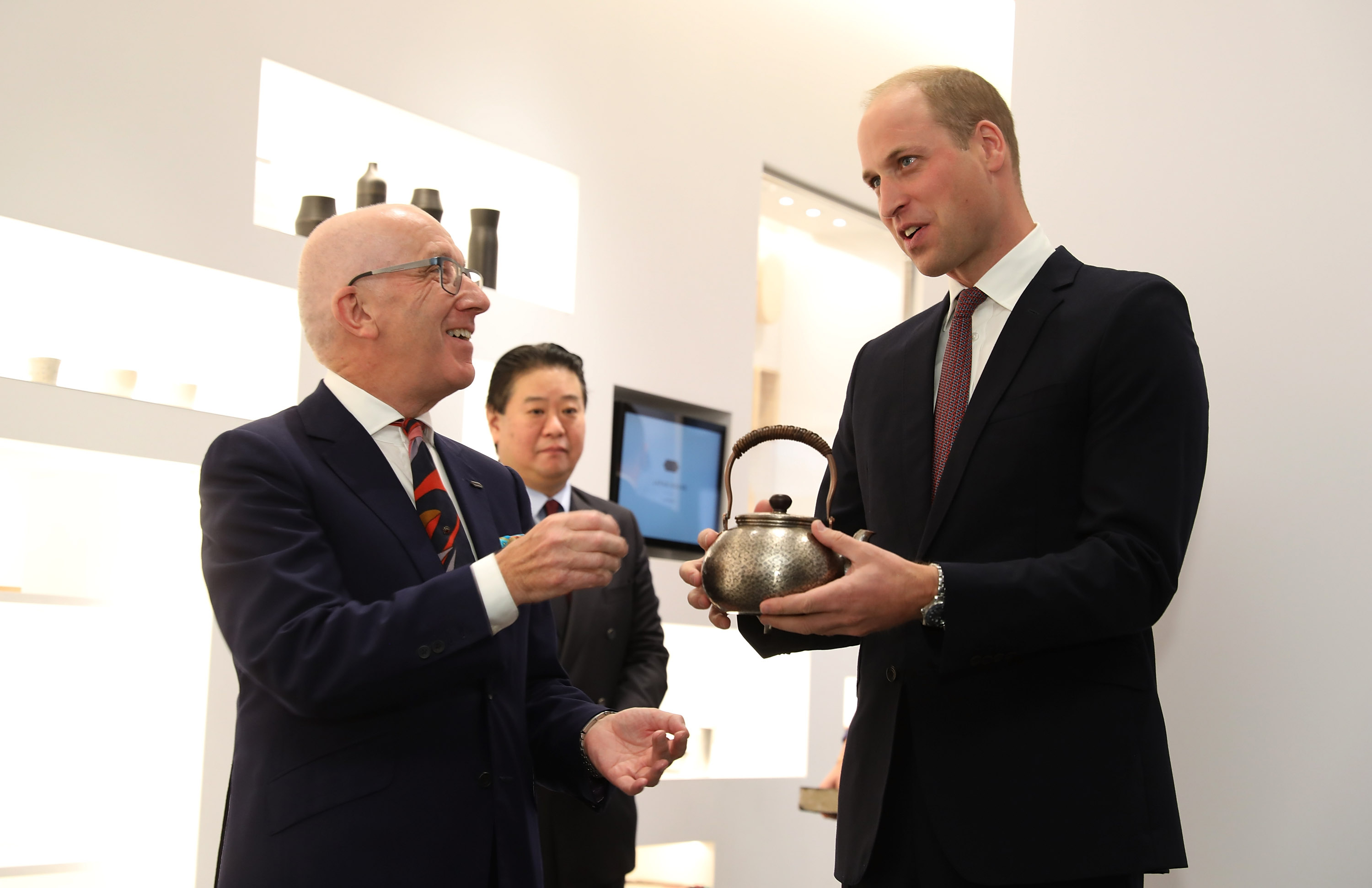William briefly muddles Japan and China at opening of Japanese cultural centre