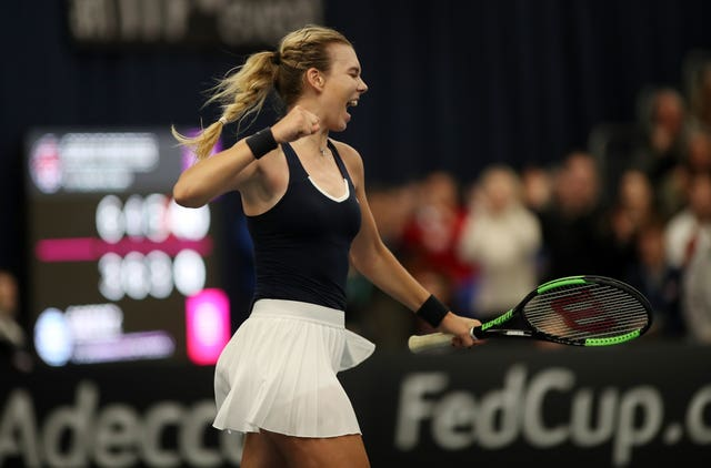 Katie Boulter has won both her matches in Bath
