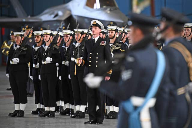 617 Squadron's Standard consecration parade