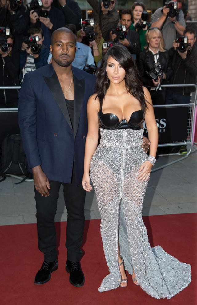 The rapper is married to Kim Kardashian West