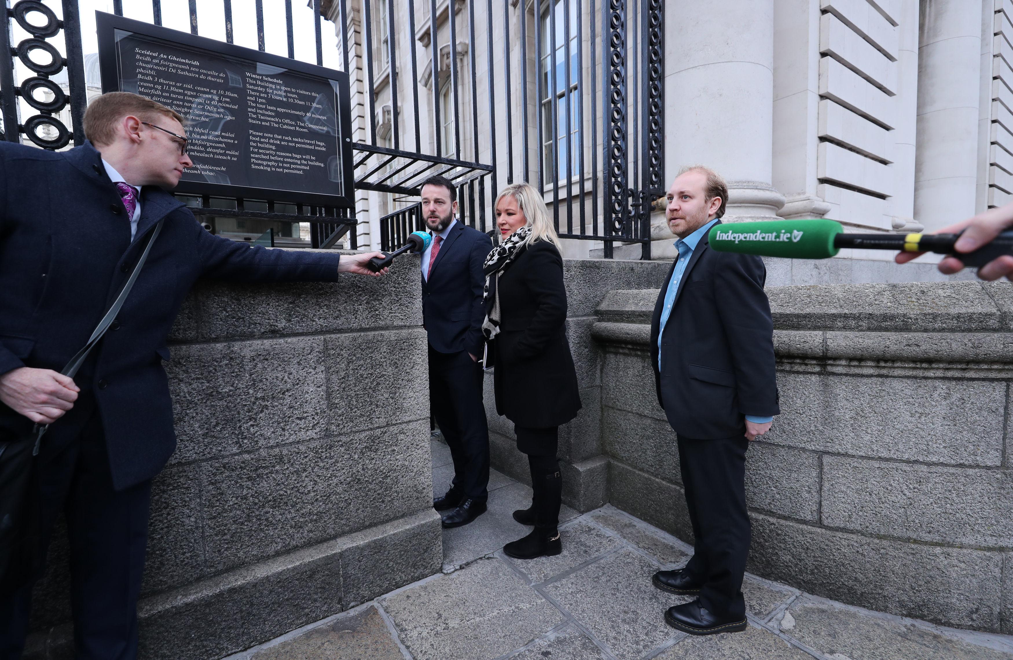 Brexit meeting in Dublin