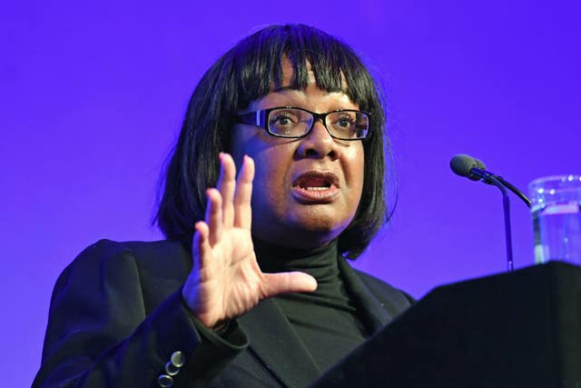 Diane Abbott comments