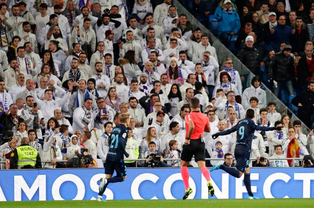 Bale booed by Real Madrid fans in win over Real Sociedad