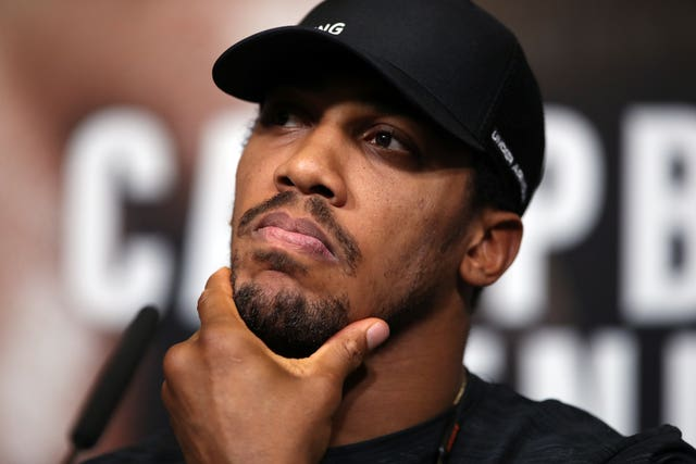 Anthony Joshua v Alexander Povetkin Press Conference – Wembley Stadium