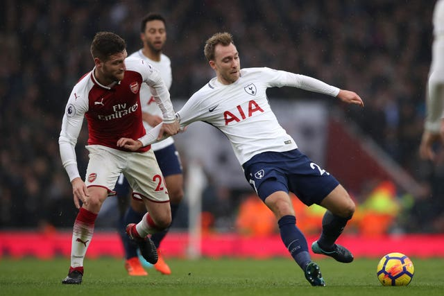 Arsenal v Tottenham Hotspur – Premier League – Emirates Stadium