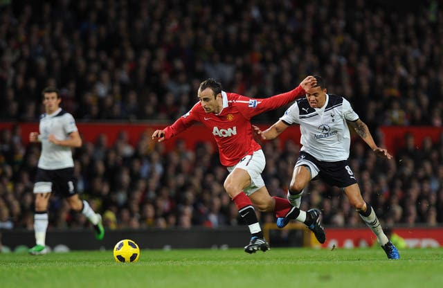 Dimitar Berbatov played for Manchester United and Tottenham