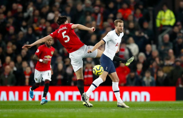 Harry Kane has been widely linked with a move to Old Trafford