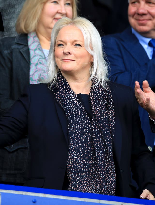 Denise Barrett-Baxendale is the Everton chief executive