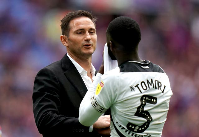 Frank Lampard took Derby to the Sky Bet Championship play-off final