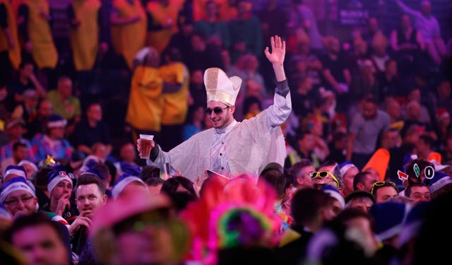 The Pope fancy dress