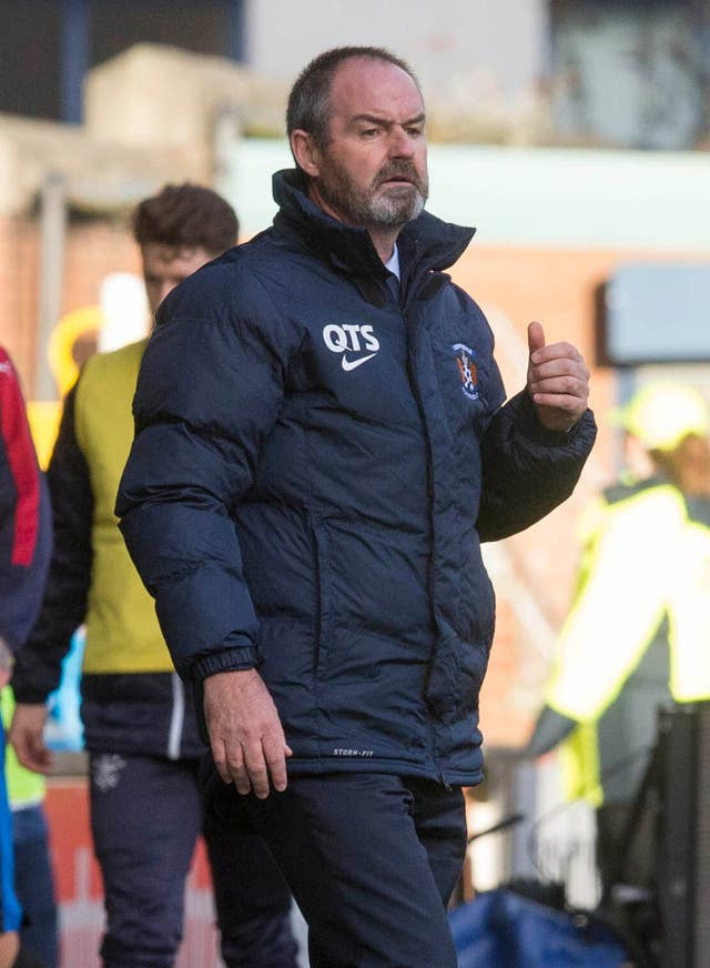 Steve Clarke has impressed as Kilmarnock manager (Jeff Holmes/PA)