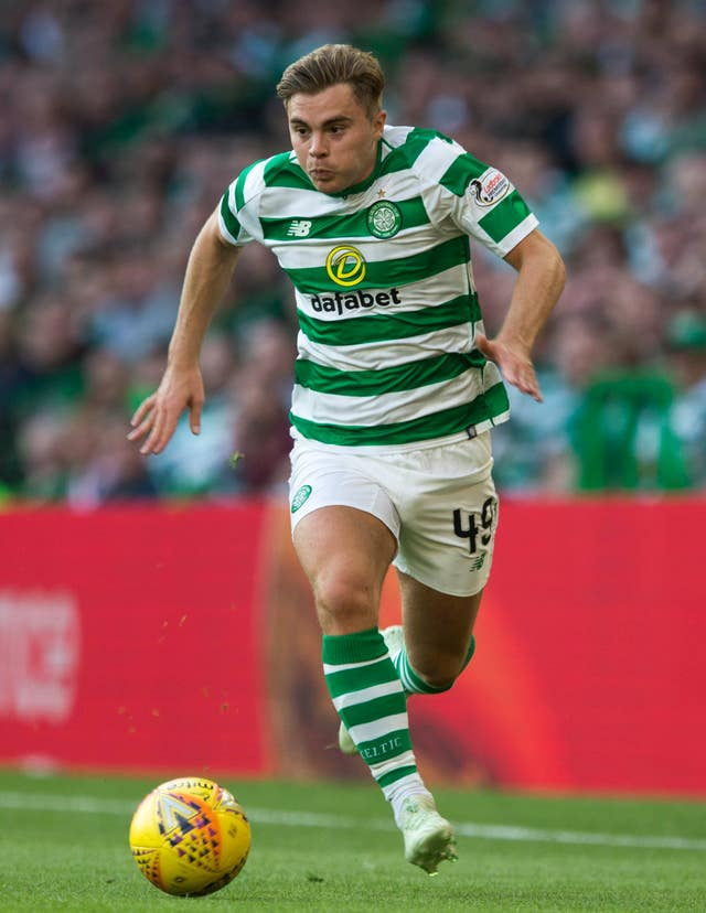 James Forrest is nominated for two awards