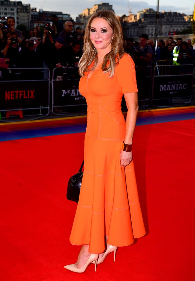 Presenter Carol Vorderman