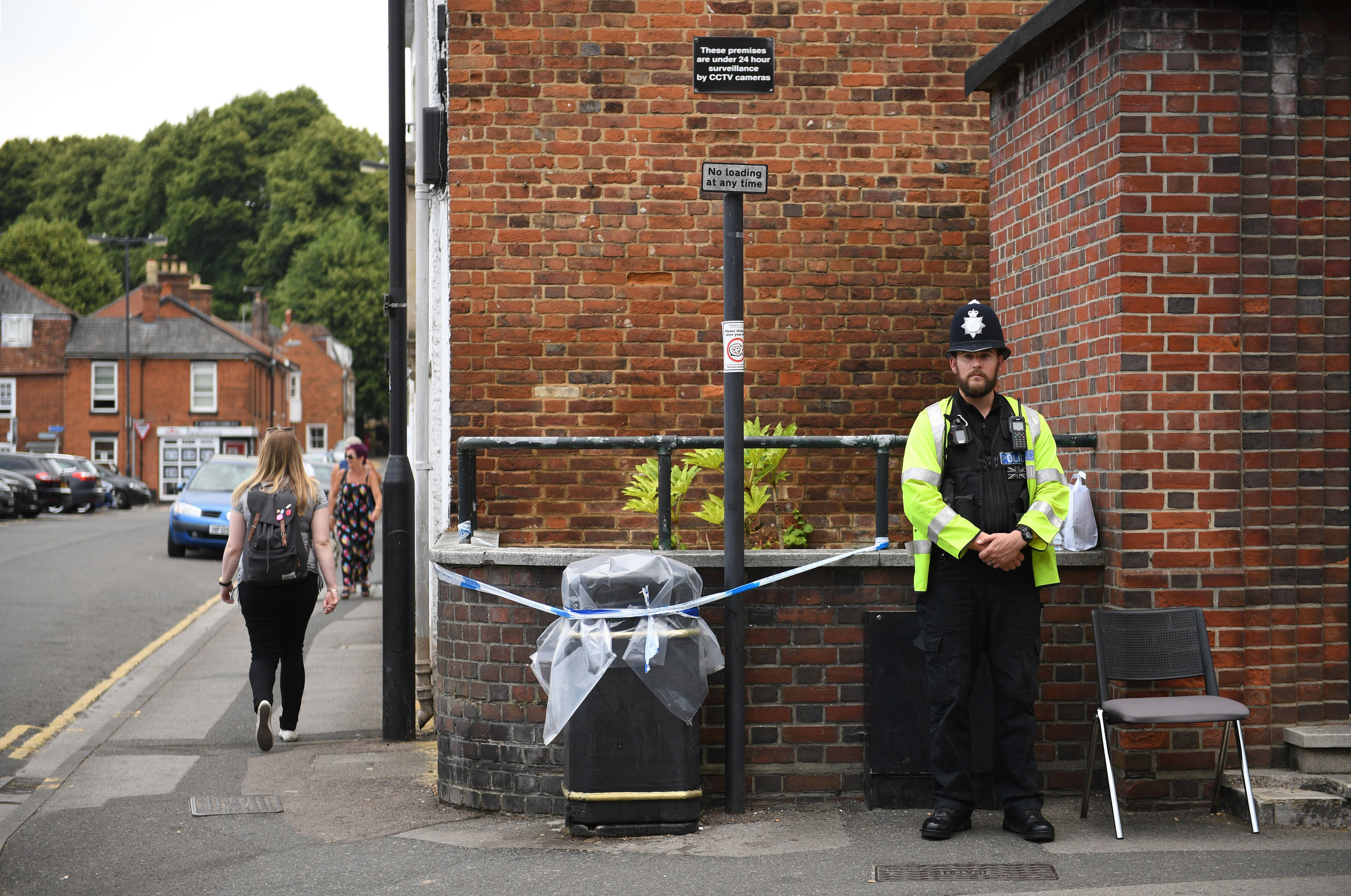 Amesbury incident: woman exposed to nerve agent dies