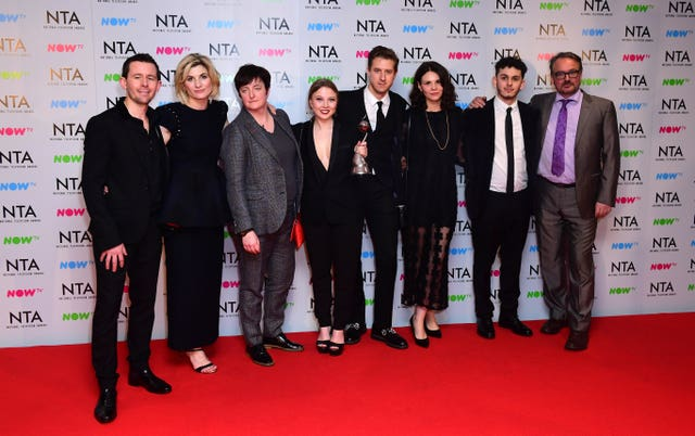 The cast of Broadchurch (Ian West/PA)