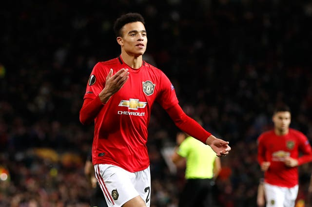 Mason Greenwood scored twice for United