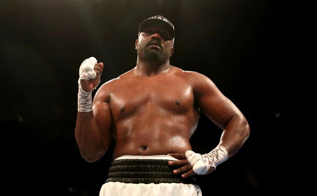 Dereck Chisora thought he had done enough to win the fight (Bradley Collyer/PA)