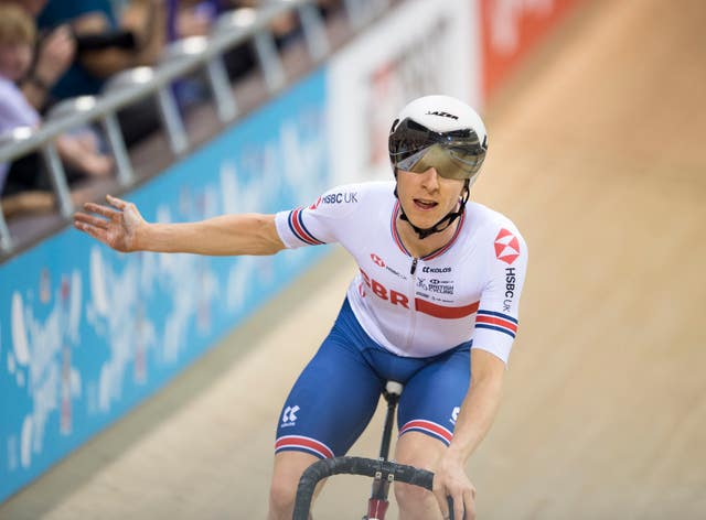 UCI Track Cycling World Cup – Day Three – Sir Chris Hoy Velodrome