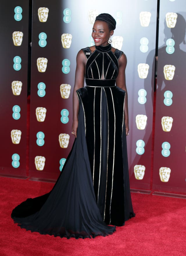Previous nominee Lupita Nyong'o (Yui Mok/PA)