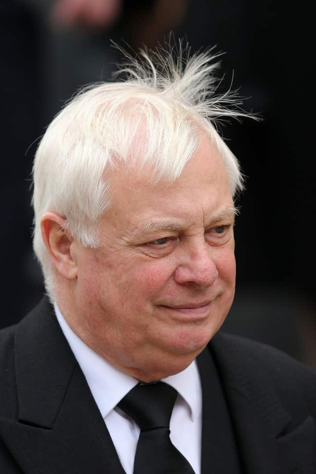 Lord Patten, former chairman of the BBC Trust