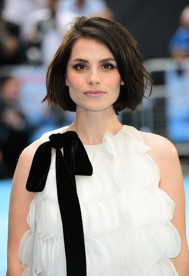 Charlotte Riley at a premiere