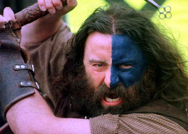 Scott Wisemantel hopes England can be inspired by Scottish hero William Wallace, portrayed here by a reenactor