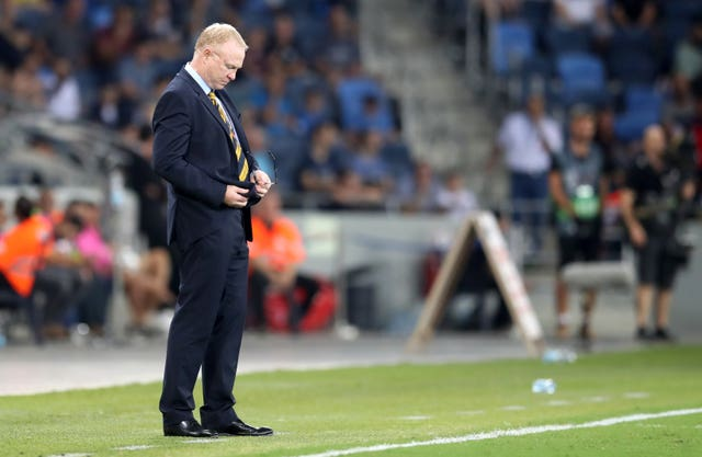 Defiant McLeish looking for Scotland reaction to Nations League loss