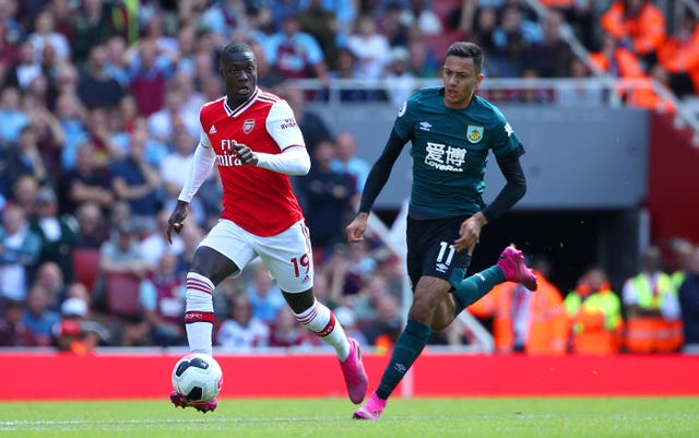 Arsenal v Burnley – Premier League – Emirates Stadium