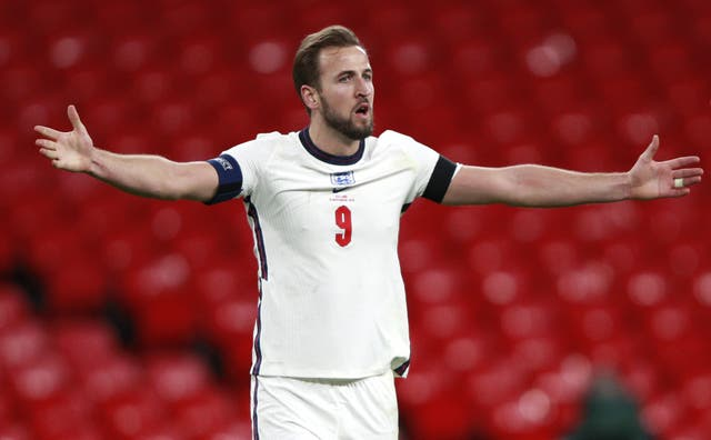 Harry Kane played 76 minutes of England's Nations League win over Iceland on Wednesday.