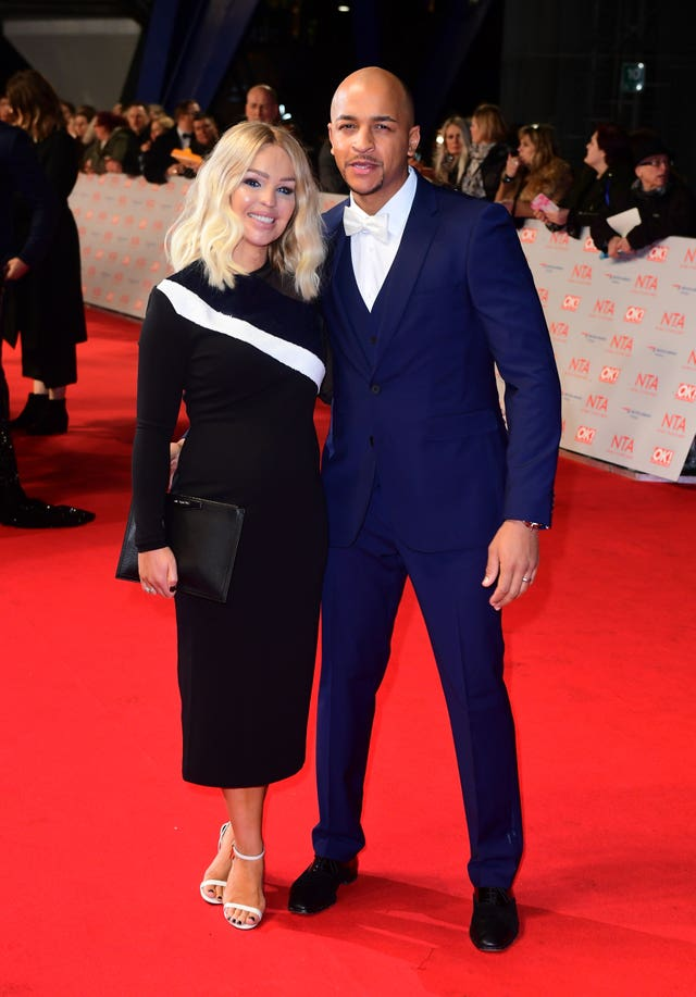 Katie Piper with her husband Richard Sutton