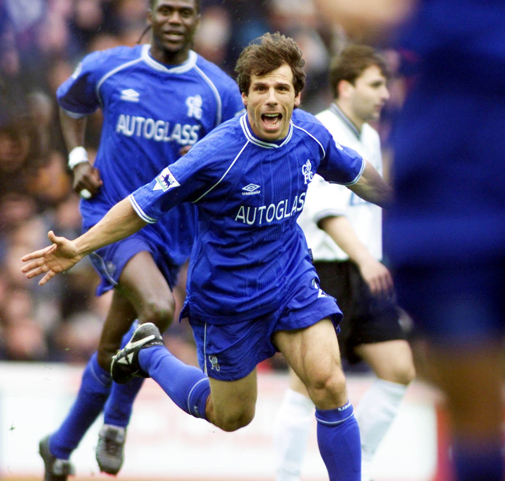 Gianfranco Zola was a much-loved member of Chelsea's team