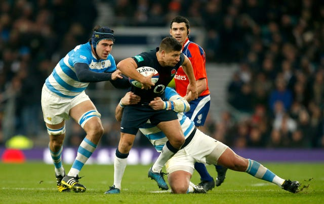 England v Argentina – Autumn International – Twickenham Stadium