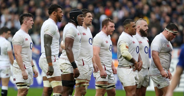England were defeated at the Stade de France