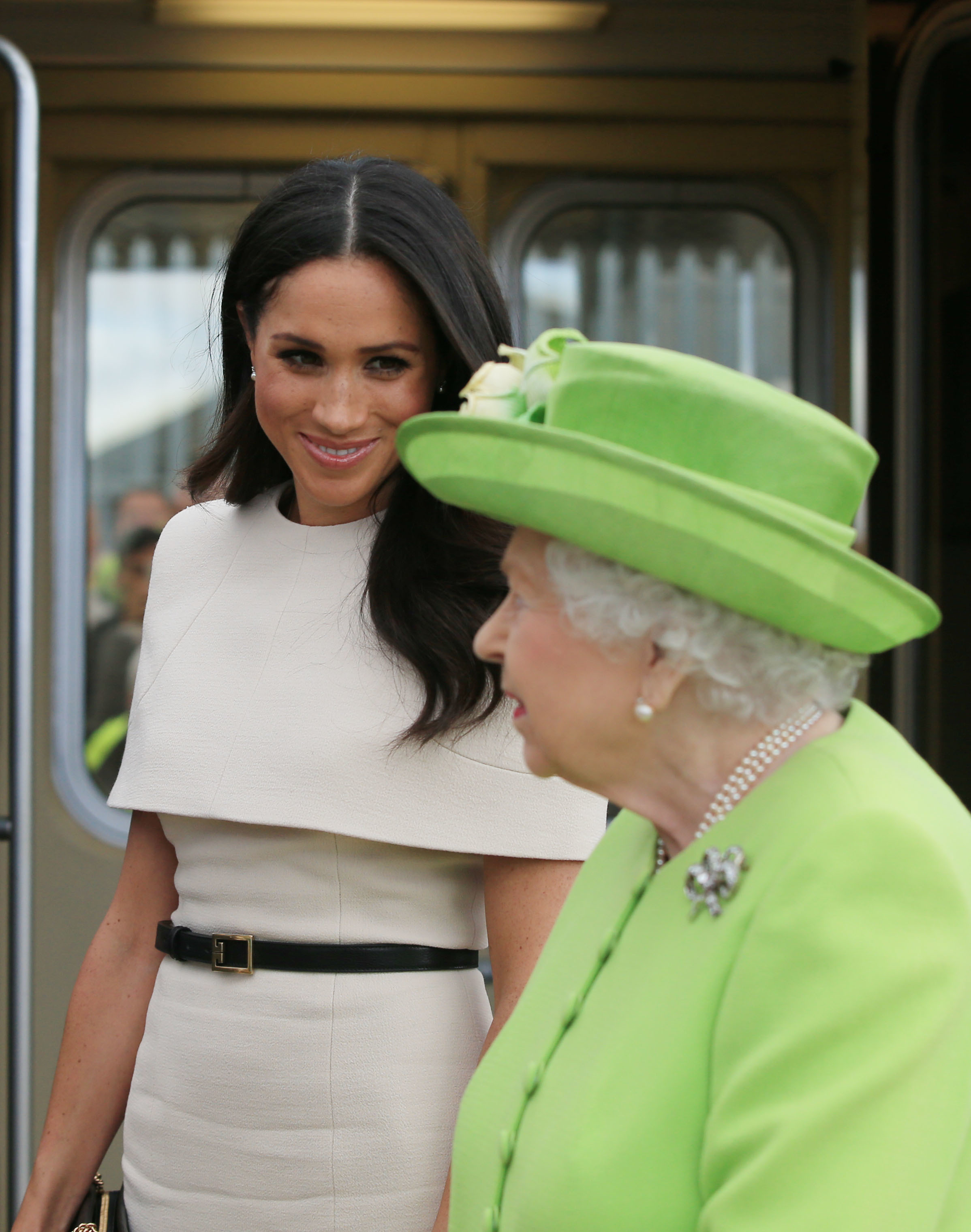 Duchess Meghan and the Queen mark Grenfell Tower fire anniversary