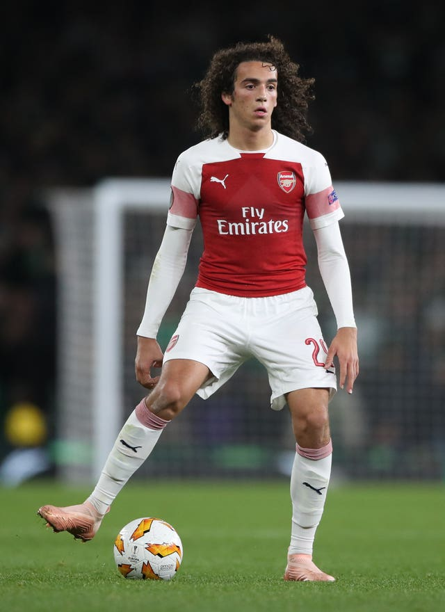 Unai Emery has joked Arsenal midfielder Matteo Guendouzi should get a hair cut