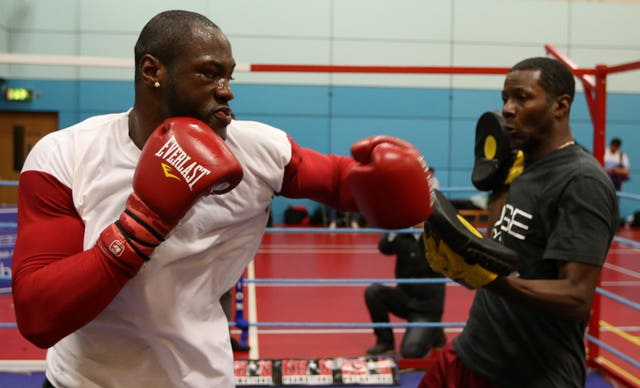 Deontay Wilder has stopped each of his 39 professional opponents (Dave Thompson/PA Images)