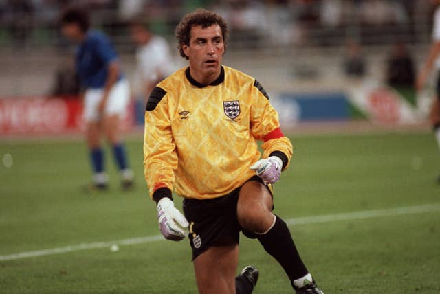 England goalkeeper Peter Shilton played his final international in the third-placed play-off loss to Italy at Italia 90