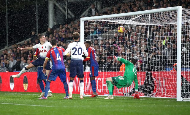 Crystal Palace 0 - 1 Tottenham Hotspur: Juan Foyth nets first professional goal to earn Spurs victory over Crystal Palace
