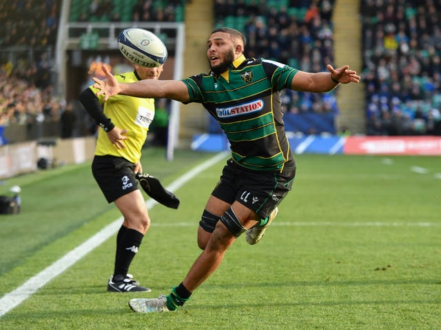 Northampton's Lewis Ludlam during his side's 43-16 home defeat to Leinster in the Heineken Cup
