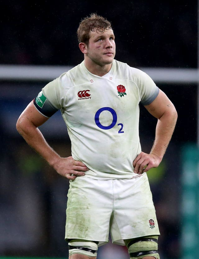 Joe Launchbury is back for England in the second row