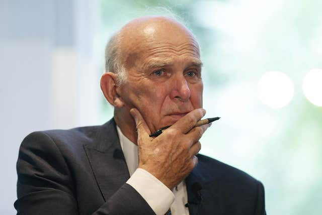 Sir Vince Cable speech