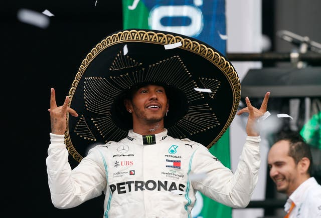 Lewis Hamilton closed in on the F1 drivers' championship by winning the Mexican Grand Prix